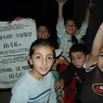 Kids Welcoming Committee - Tatev, Armenia