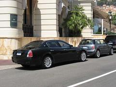 rolls-royce(0.0), bentley continental flying spur(0.0), supercar(0.0), automobile(1.0), automotive exterior(1.0), wheel(1.0), vehicle(1.0), performance car(1.0), automotive design(1.0), maserati quattroporte(1.0), sedan(1.0), land vehicle(1.0), luxury vehicle(1.0),