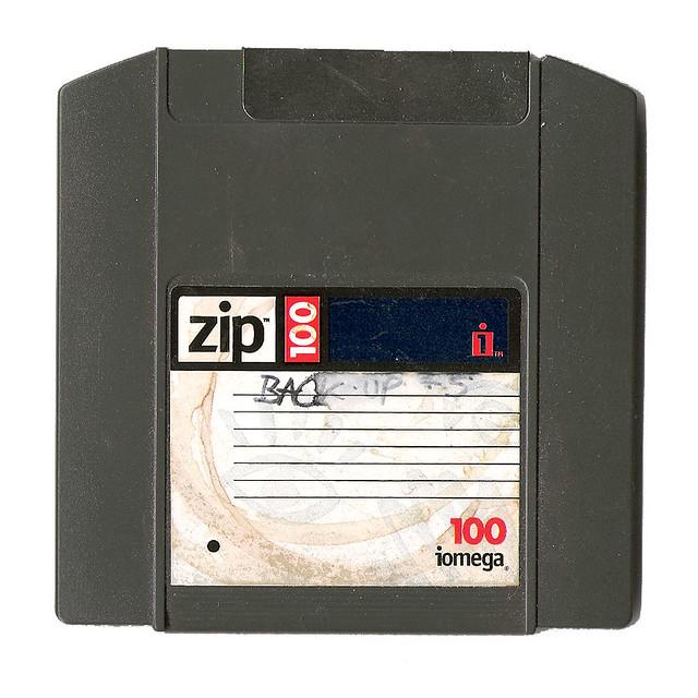 Dead Media Society Zip Disk Flickr Photo Sharing