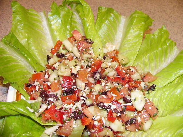 Greek Salad Diet Food