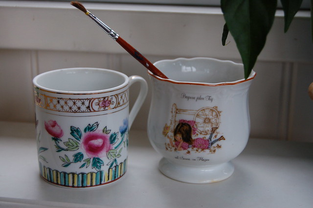 Thrifted cups