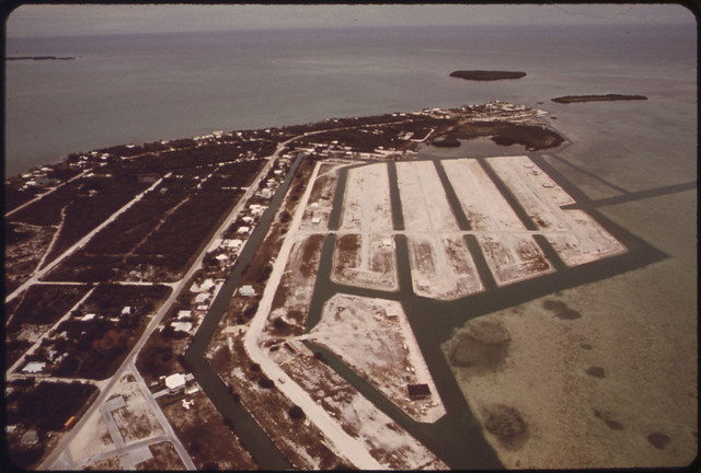 Land Development at Summerland Key Documerica 1975 by Flip Schulke 1930-2008.
