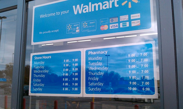 Wal-Mart - Tipton, Iowa - Store Hours | Flickr - Photo ...