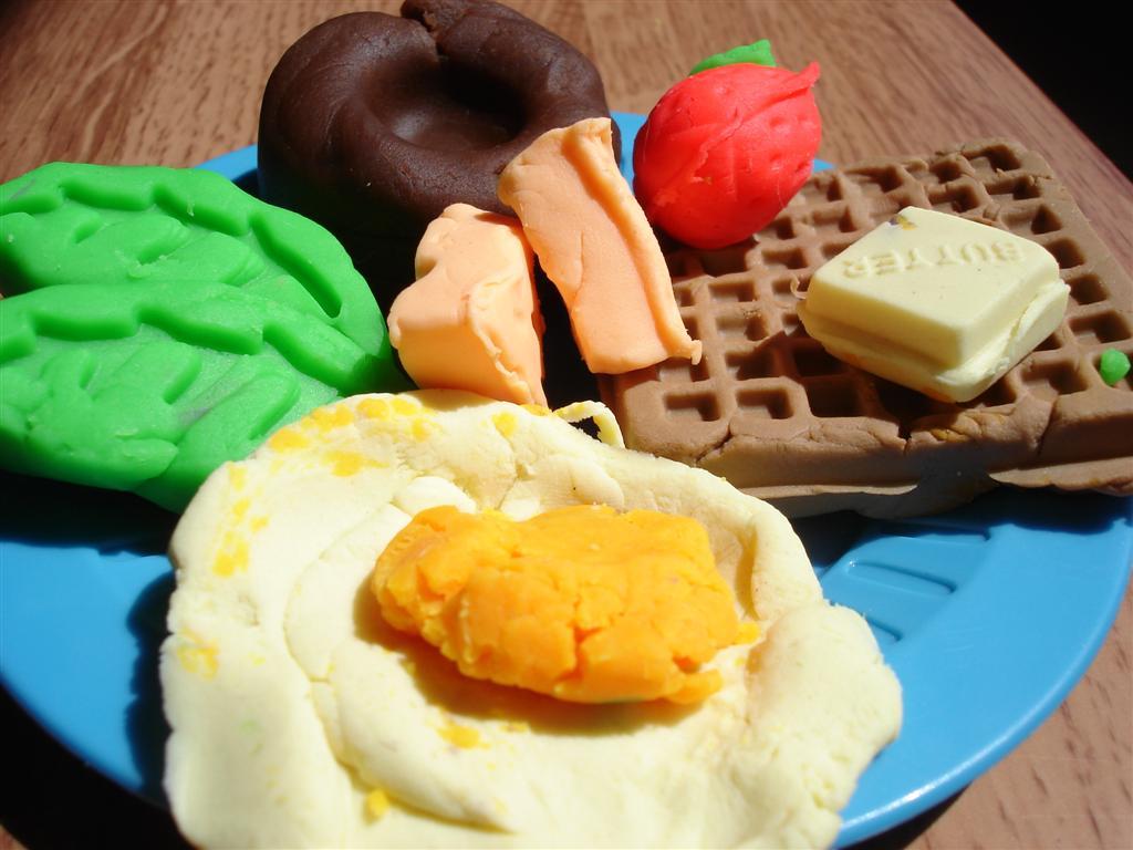 培樂多黏土早餐