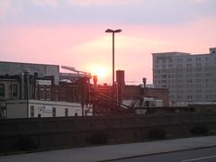 sunset & Panthers Stadium