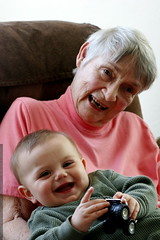 great grandma joan and her youngest great grandchild…