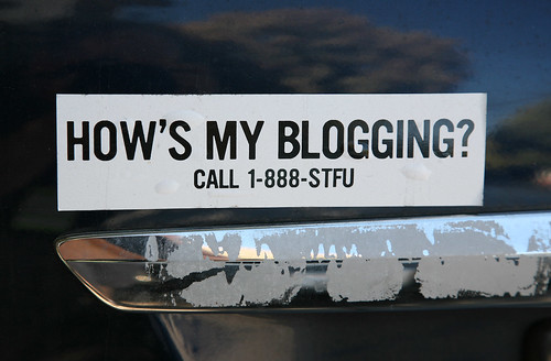 How's My Blogging?