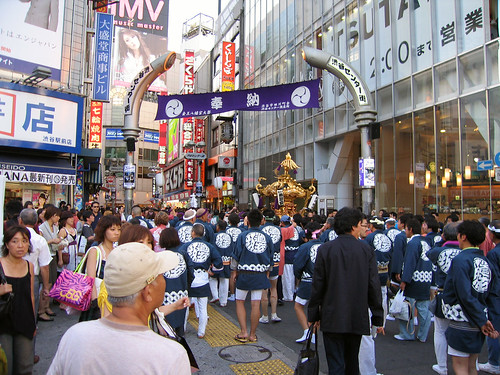 Omikoshi at Shibuya Center Street | by Kimtaro
