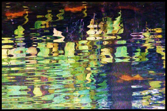 River abstract