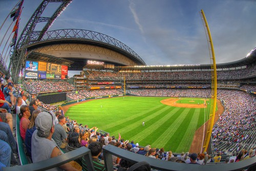 Safeco Field Fisheye HDR