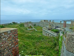 Fort Tourgis From above - Alderney