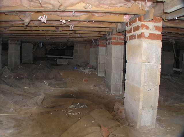 Crawl Space Duct : The new crawl space ductwork moving to attic so this wi