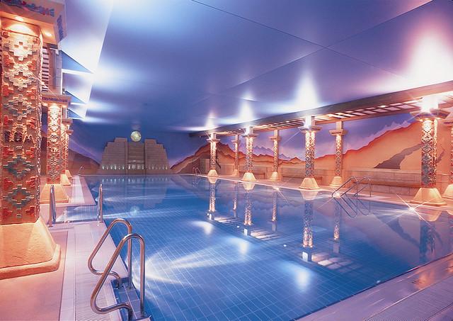 Aztec Spa Swimming Pool Flickr Photo Sharing