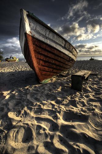 sea summer beach water clouds sunrise landscape boats tripod wide poland polarized 1022mm hdr sopot 3xp 400d