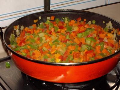 Cocinando arroz con verduras cocinando en mi casa el for Cocinando en mi casa