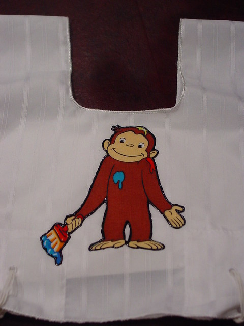 Curious george painting flickr photo sharing for Curious george mural