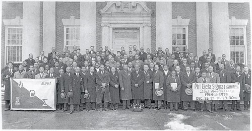 Conclave 1939 - 25th anniversary of Phi Beta Sigma - Howard University, Washington D.C. December 1939