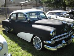 automobile, automotive exterior, pontiac chieftain, vehicle, mid-size car, plymouth cranbrook, antique car, sedan, vintage car, land vehicle, luxury vehicle, motor vehicle,