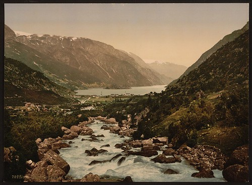 [General view towards Odde (i.e. Odda), Hardanger Fjord, Norway] (LOC)