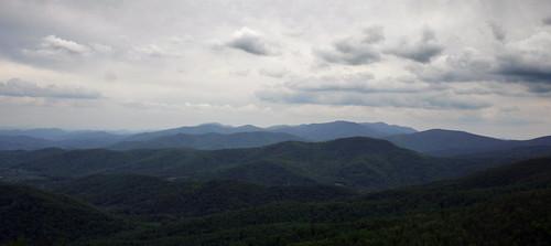mountain nature clouds virginia horizon vista range ridges shenandoahnationalpark