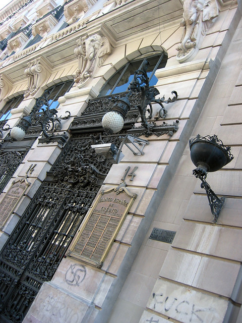 Puertas de hierro forjado 09050 calle de alcal madrid - Puertas hierro forjado ...