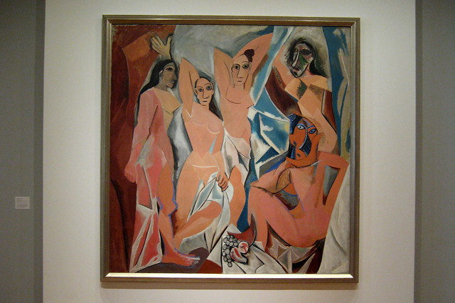 an introduction to picassos development and les demoiselles davignon Les demoiselles d'avignon from picasso : the masked subject, chapter 1  to see les demoiselles again,  the catalog of les demoiselles d'avignon, the one for.