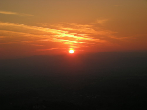 panorama tramonto sabina fara soratte