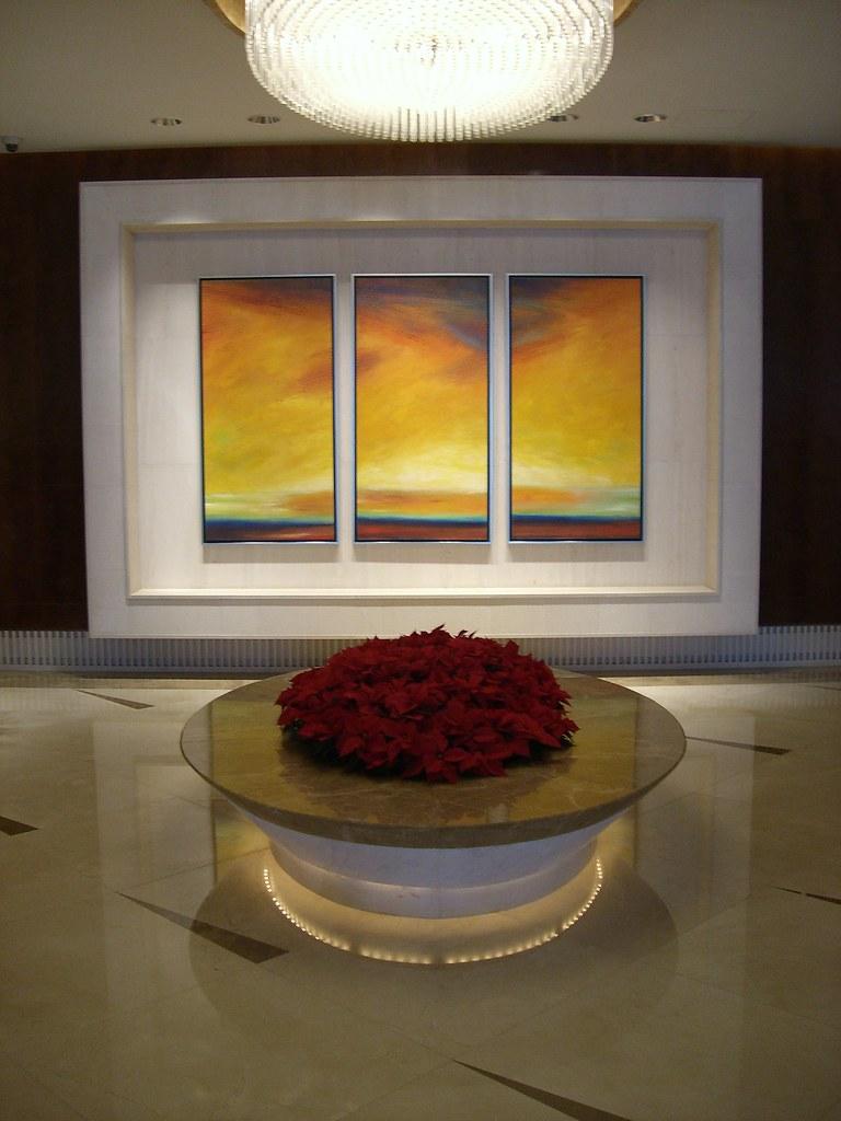 Hotel Lobby in Beijing