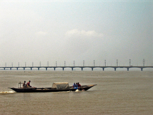 Jamuna (Brahmaputra) in Bangladesh