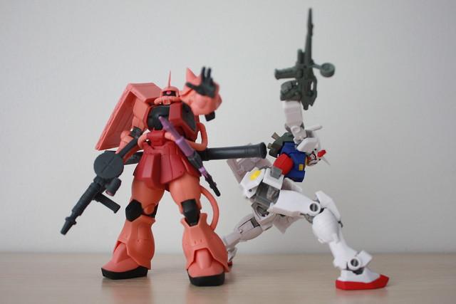 [S.C.M. EX] Gundam VS. Char's ZAKU set