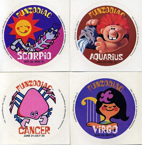 Fun Zodiac stickers