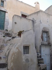 Houses in the Casteli of Emporio