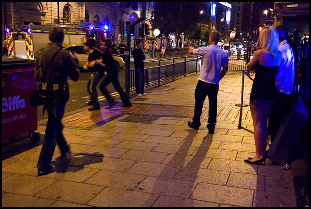 Incident, Friday night 2