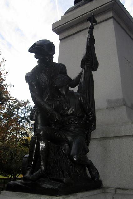 Washington DC: Lafayette Park - Brigadier General Thaddeus Kosciuszko