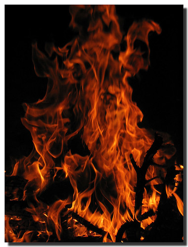 Foc de Sant Joan - . SantiMB .