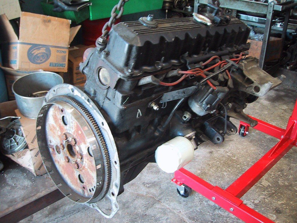 1995 4.0L H.O. Jeep Engine