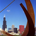 Small photo of Chicago - Adler Planetarium Sundial & Sears Tower