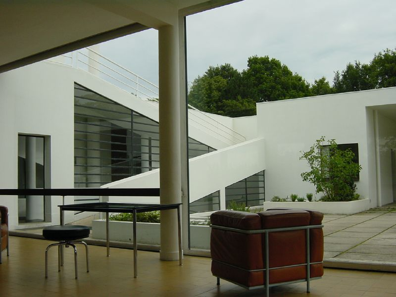 Villa Savoye, Le Corbusier, Poissy
