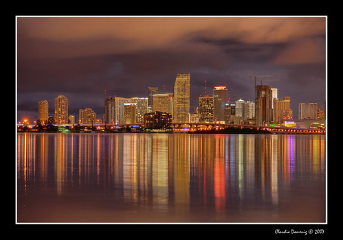 skyline clouds reflections lights bravo downtown searchthebest florida miami venetiancauseway jpeg hdr i195 biscaynebay blueribbonwinner macarthurcauseway canonefs1785mmf456isusm 3exp juliatuttlecauseway anawesomeshot goldenphotographer diamondclassphotographer flickrdiamond miamidadeco dphdr