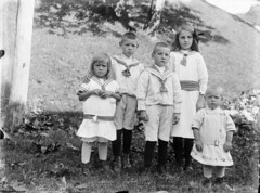 The Høidahl-children ca. 1917