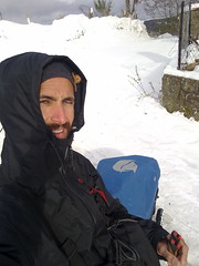 Carriños sobre a neve