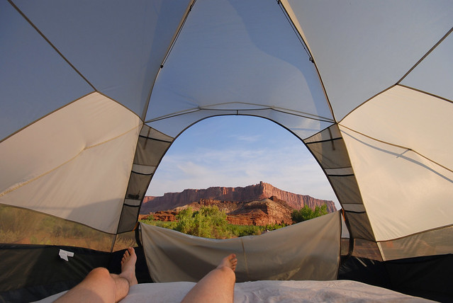 Tent View from Flickr via Wylio
