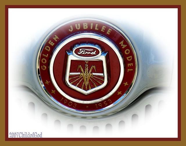 Ford tractor emblem flickr photo sharing