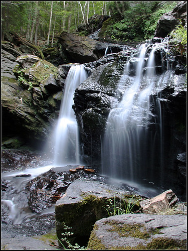 Old Wilton Reservoir Falls