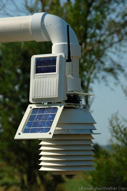 Davis Vantage Pro 2 Iss Fars Wireless Transmitter Flickr