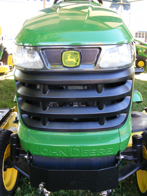 Lawn Mower Grill : John deere lawn tractor grill flickr photo sharing