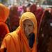 Maha Kumbh mela pilgrims by fredcan