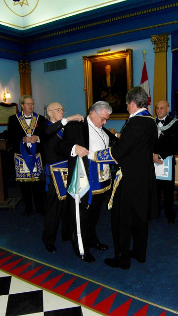 King Hiram Lodge No. 566 Toronto Reception - V.W.Bro. Richard T. Morell G.S. and R.W.Bro. Lew Crocker P.G.S.W. (38)