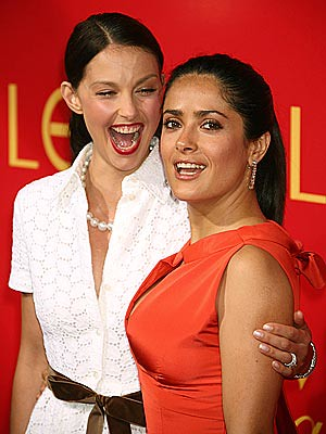 New Salma hayek ashley judd