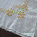 Embroidered & Edged Tablecloth